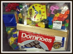 Homeschool Math Manipulatives Kit