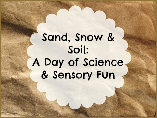sand snow and soil