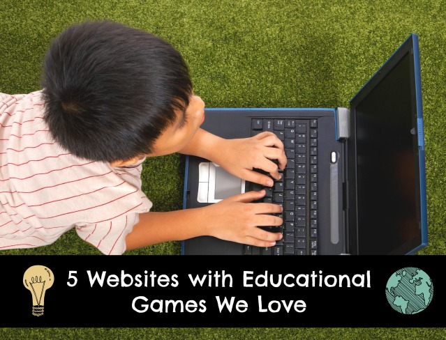 5 Websites with Educational Games We Love