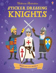 Knights sticker book