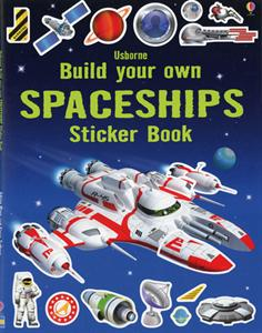 build your own space ships sticker book