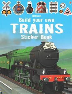 trains sticker book