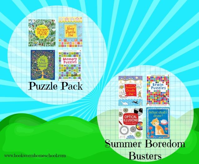 summer book packs