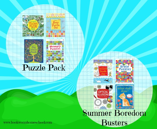 summer book packs