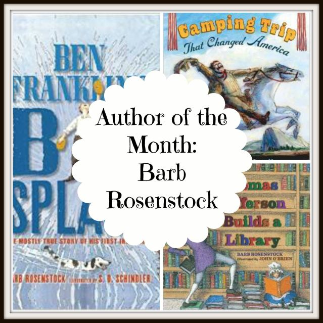 author of the month barb rosenstock